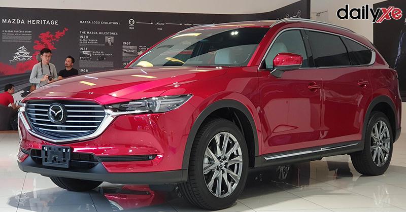 cầm ô tô Mazda lãi suất thấp