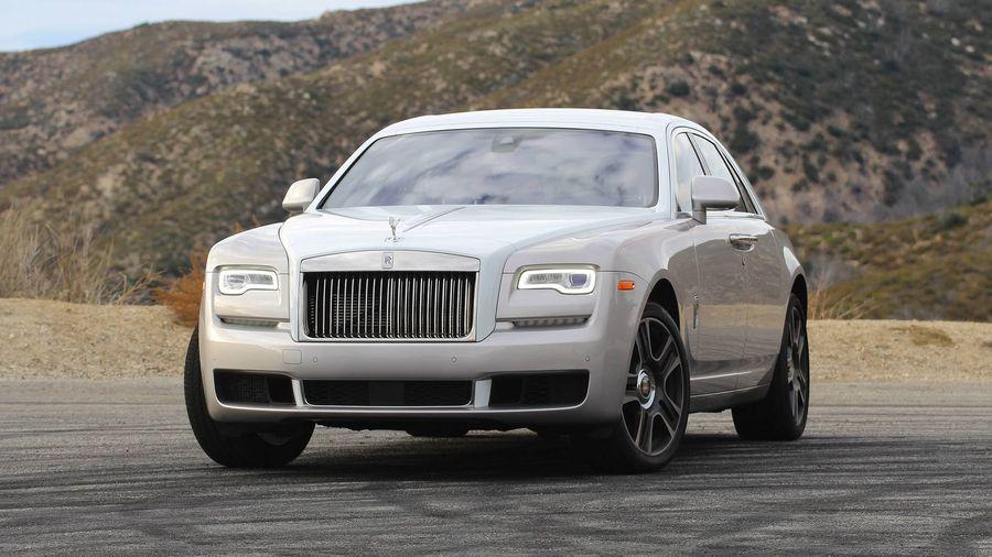 cam xe o to Rolls-Royce