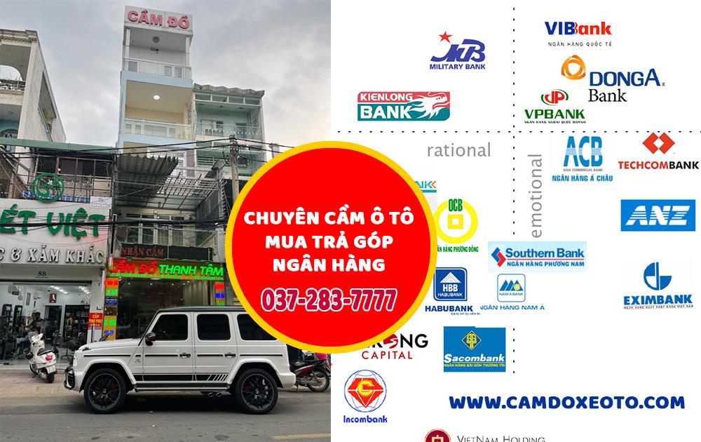 cầm ô tô đang trả góp ngân hàng tại Sài Gòn - camdoxeoto.com